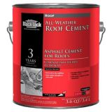 Gardner Gibson RM-1G - Black Jack, All-Weather Roof Cement - 1 Gallon Container