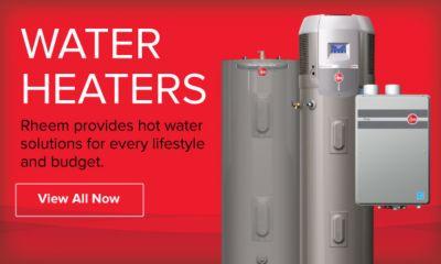 view all rheem water heaters
