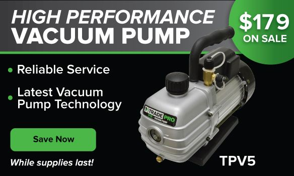 High Efficiency TradePro Vacuum