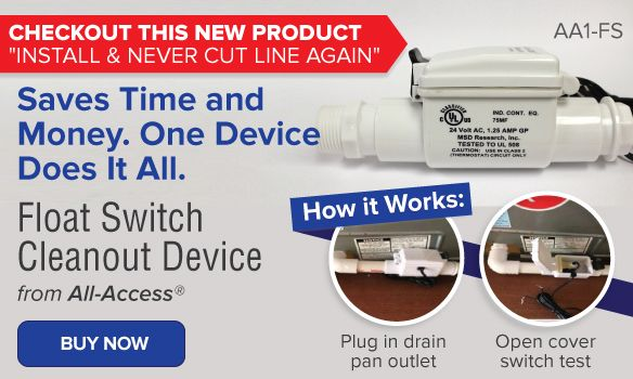 All Access Condensate Cleanout Device