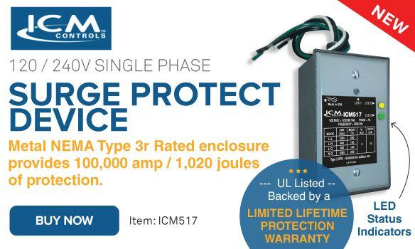 ICM Controls Surge Protect