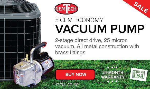 GemTech GT5E Vacuum Pump