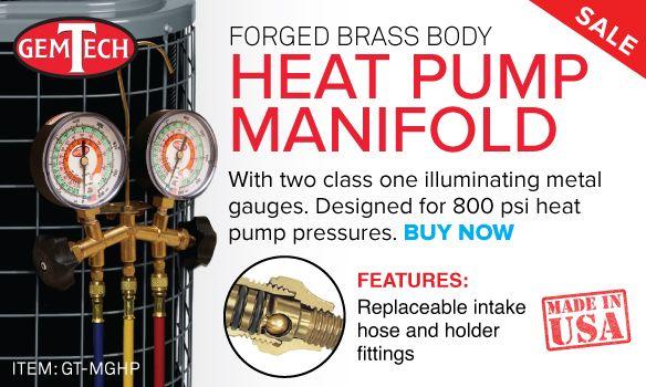 GemTech Heat Pump Manifold