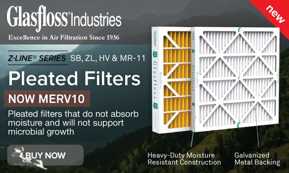 GlasFloss Pleated Filters