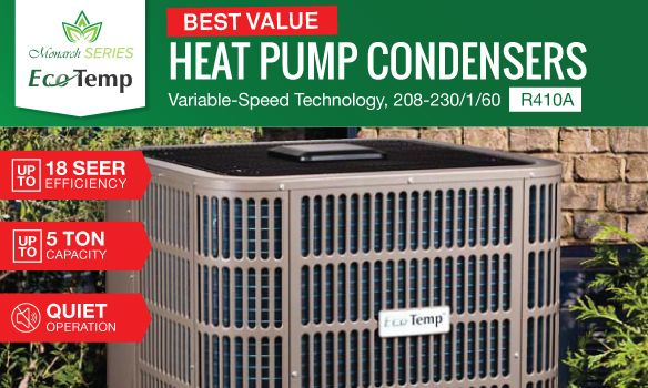 Ecotemp heatpump condenser