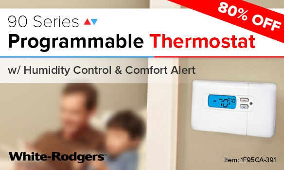 White Rodgers 1f95a Thermostat