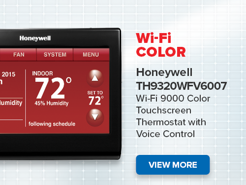 Honeywell Thermostat Wi-Fi Color