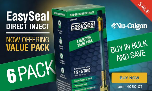 Nu-Calgon Easy Seal 6 Pack