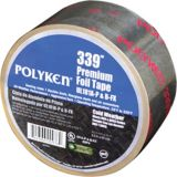 "Polyken 651997B - 339 UL181A-P, B-FX Listed Premium Cold Weather Foil Tape 2.5""X 60 Yards"
