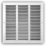 "TRUaire 170 24X24 - Steel Return Air Grille - 1/2"" Spaced Fin, White, 10"" X 06"""