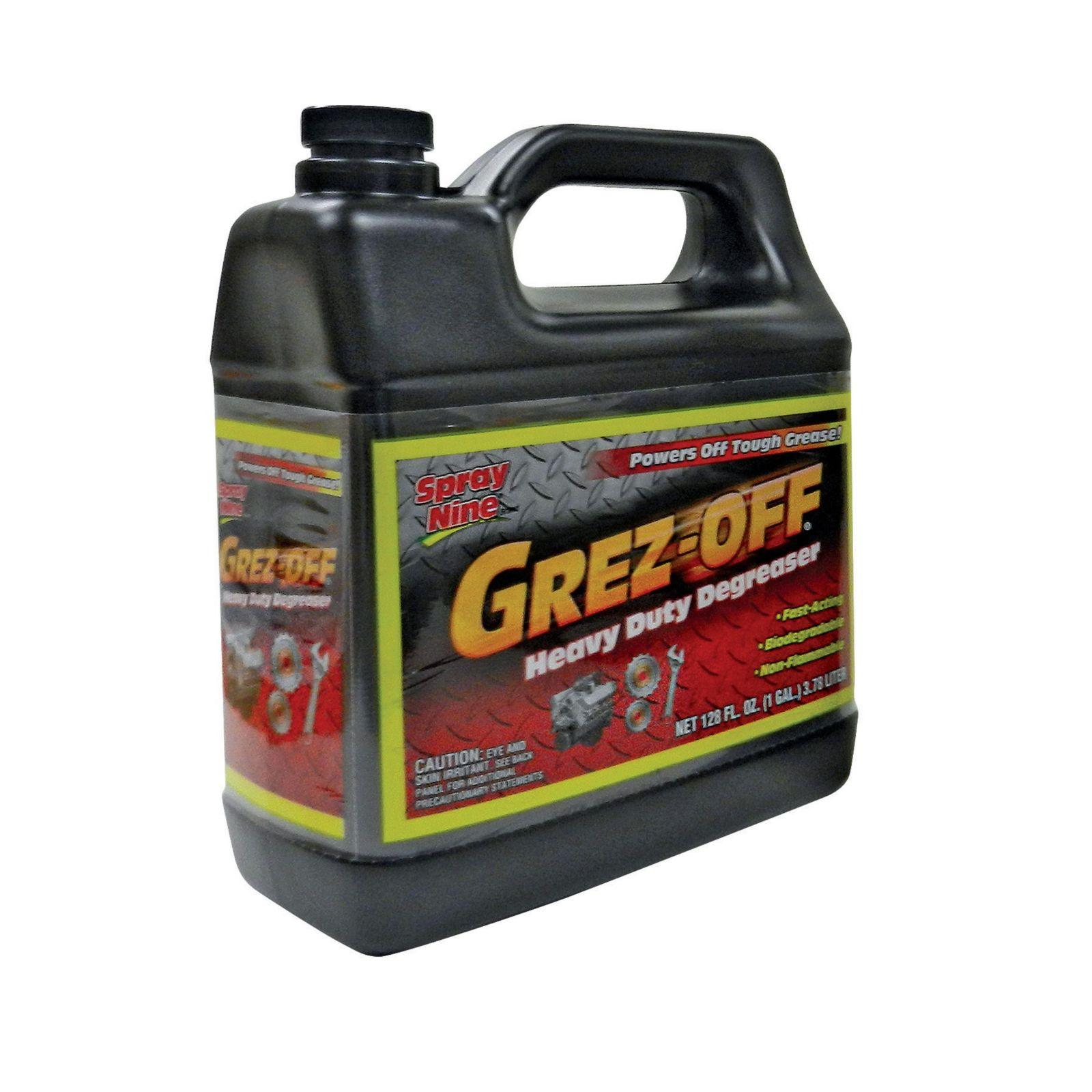 Nu-Calgon 61116 - Grez-Off Biodegradable Degreaser, 1 Gallon