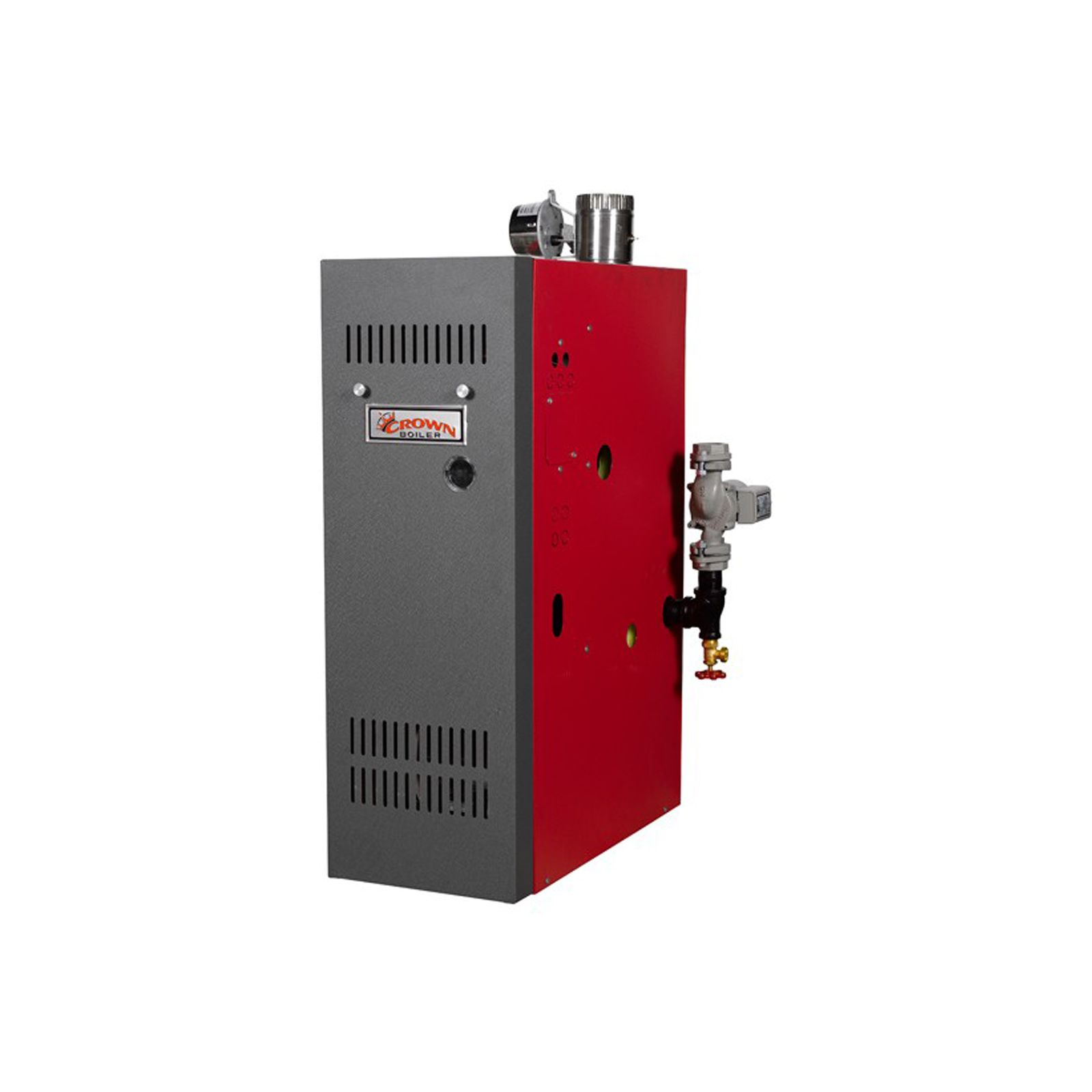 Crown Boiler AWR105ENST2PSU - Aruba 4, Gas-Fired Hot Water Boiler ...
