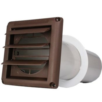 deflecto svhab4 dryer vents with supurr vent louvered