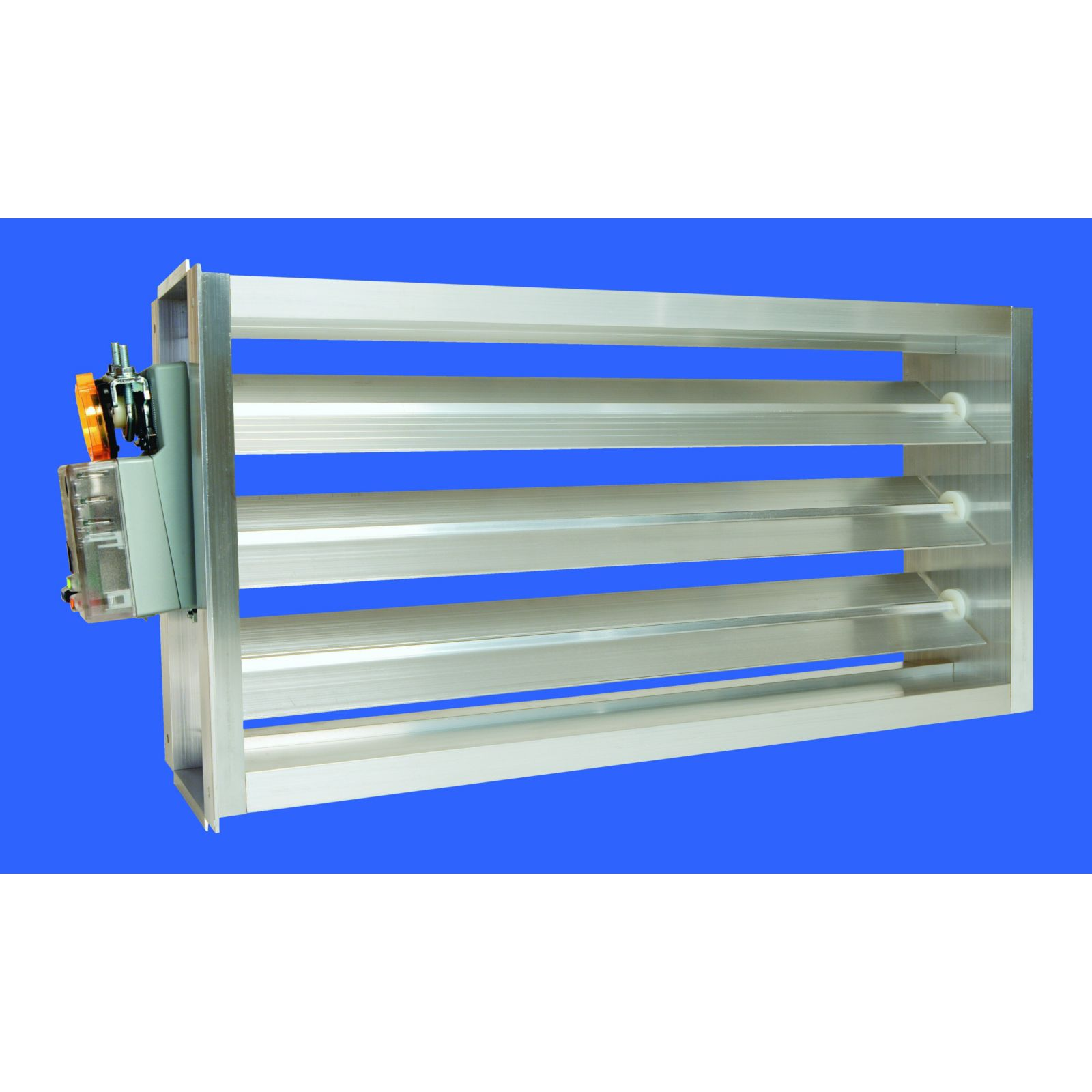 EWC 20X6 ND - Motorized Ultra-Zone Damper, 20