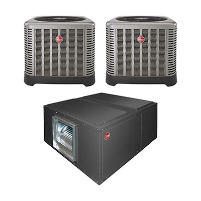 Commercial Two Condenser Air Conditioner Split Systems