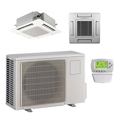 Mini Split Single Zone Heat Pump Cassette Systems