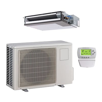 Mini Split Single Zone Heat Pump Ducted Systems