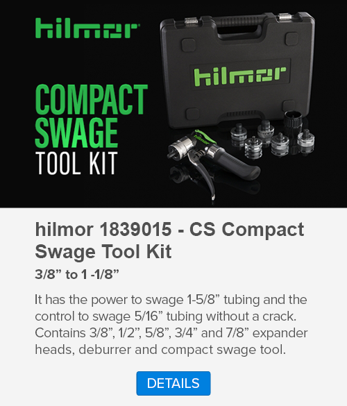 Compact Swage Tool Kit