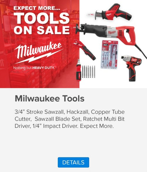 Milwaukee Tools Promo
