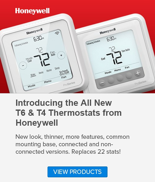 Honeywell T6-T4 Thermostats
