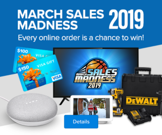 March Sales Madness 2019