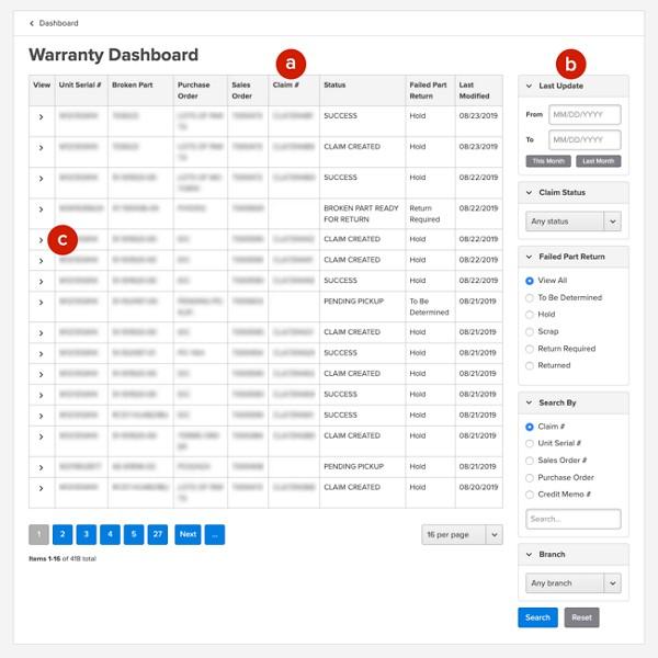 Warranty - User Guide