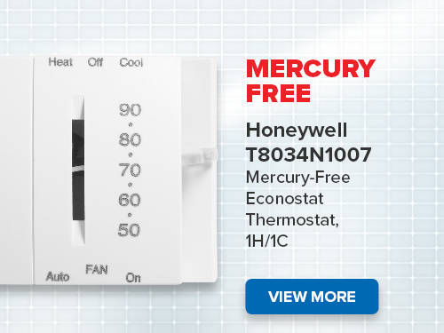 Honeywell Thermostat Mercury Free