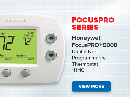 Honeywell Thermostat FocusPro Series