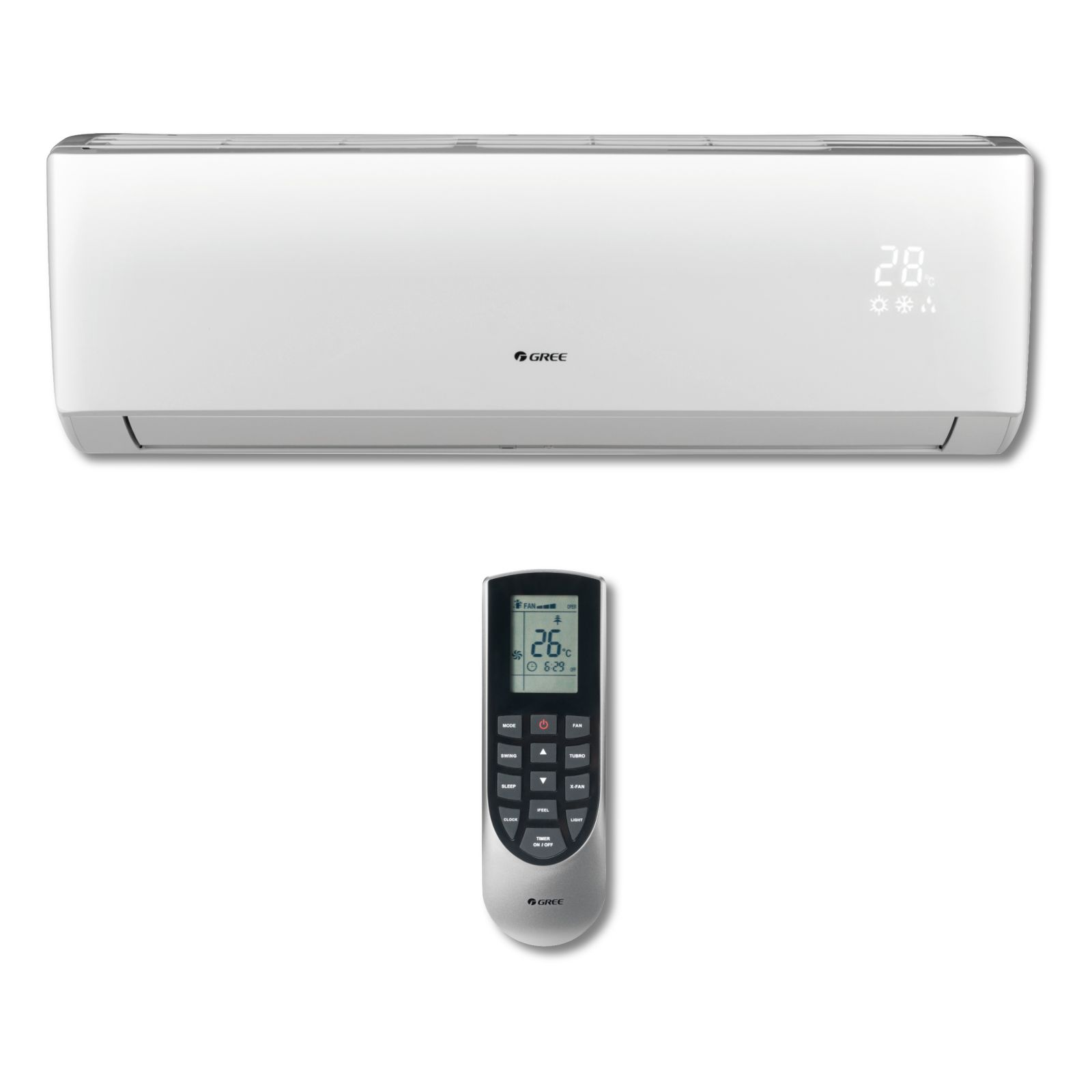 GREE VIR12HP230V1AH - Vireo 12,000 BTU Wall Mounted Inverter