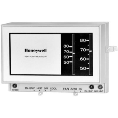 honeywell t841a1738 heat pump thermostat manual changeover 2 heat rh gemaire com Honeywell Non Programmable Thermostat Manual honeywell heat pump thermostat troubleshooting