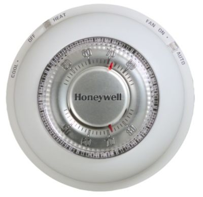 Honeywell T87N1026 - Round Manual Mercury-Free Thermostat  sc 1 st  Gemaire : honeywell mercury thermostat wiring - yogabreezes.com