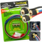 Mainstream 86-QT2812 - QwikLug Compressor Terminal Repair Kit (12 AWG - 2 ft.)