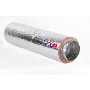 Modular Metal MFHCM40614 - Aluminum Flex Pipe - (2) Collars