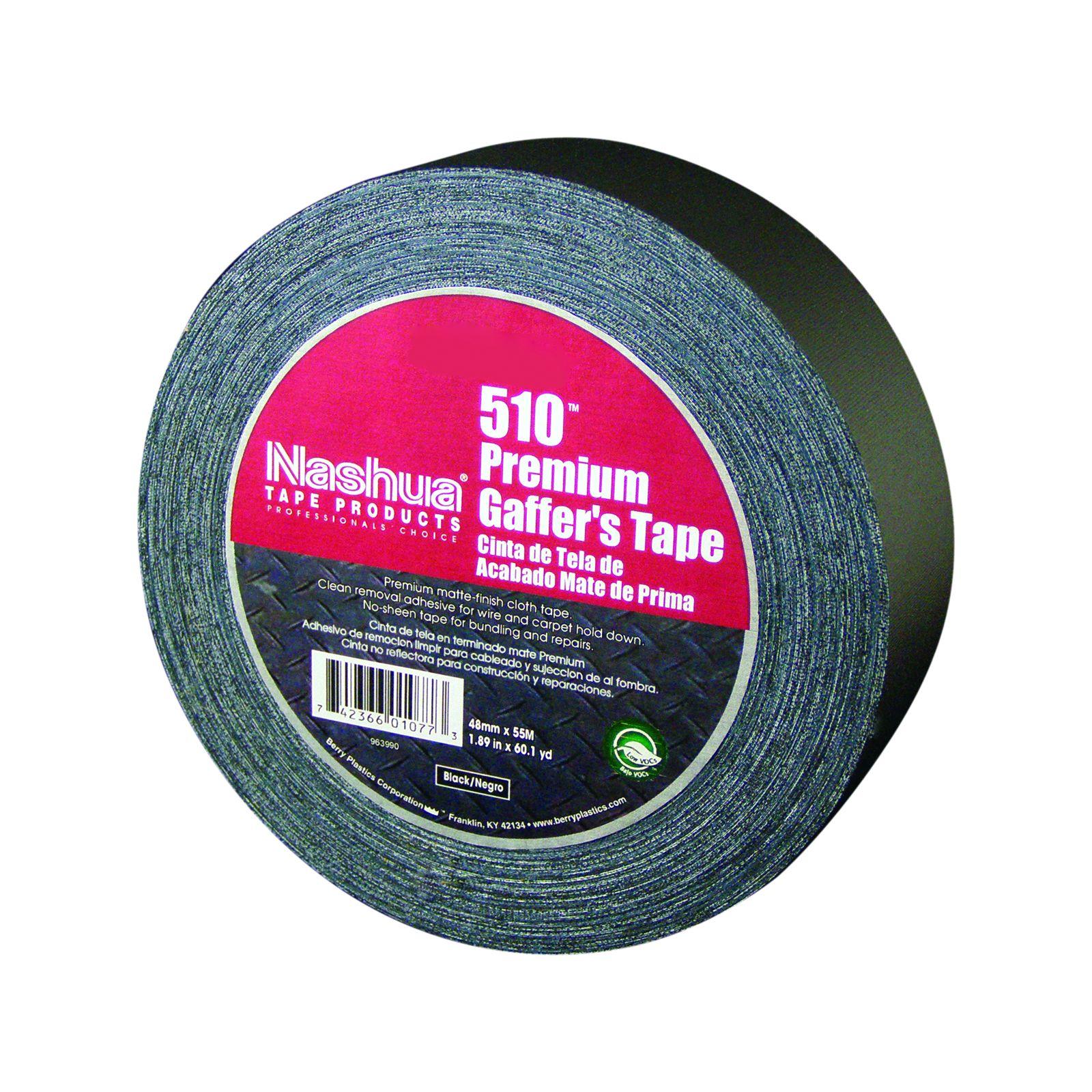 Nashua 1086777 - 510 Black Matte Gaffer Tape --- 1415364287961