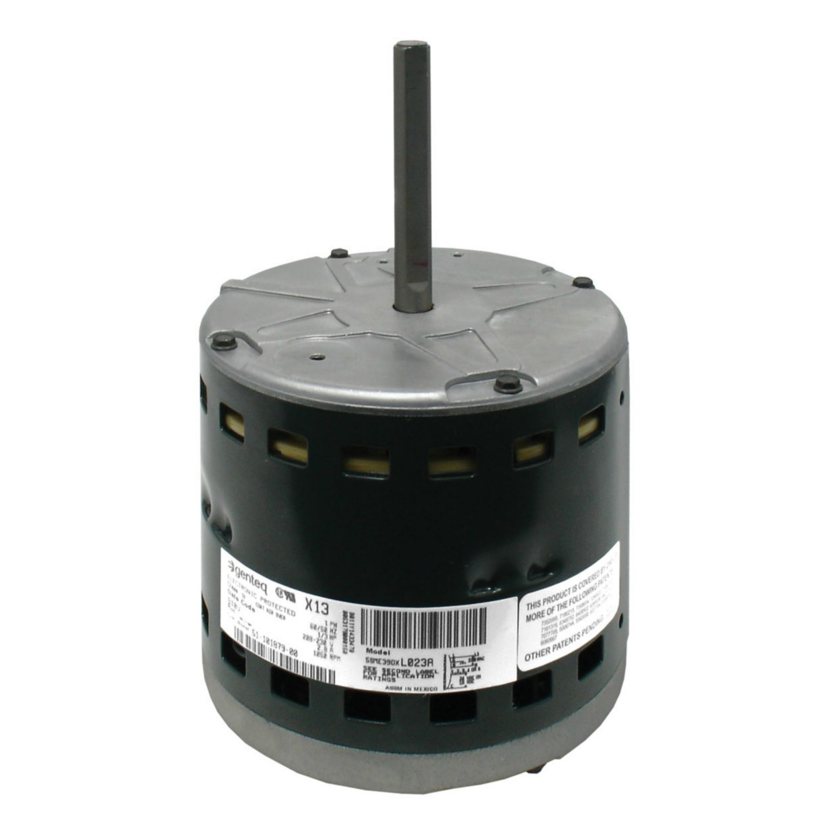 genteq 51 101879 00 motor and module x 13 230v 1 3 hp view full size in new tab