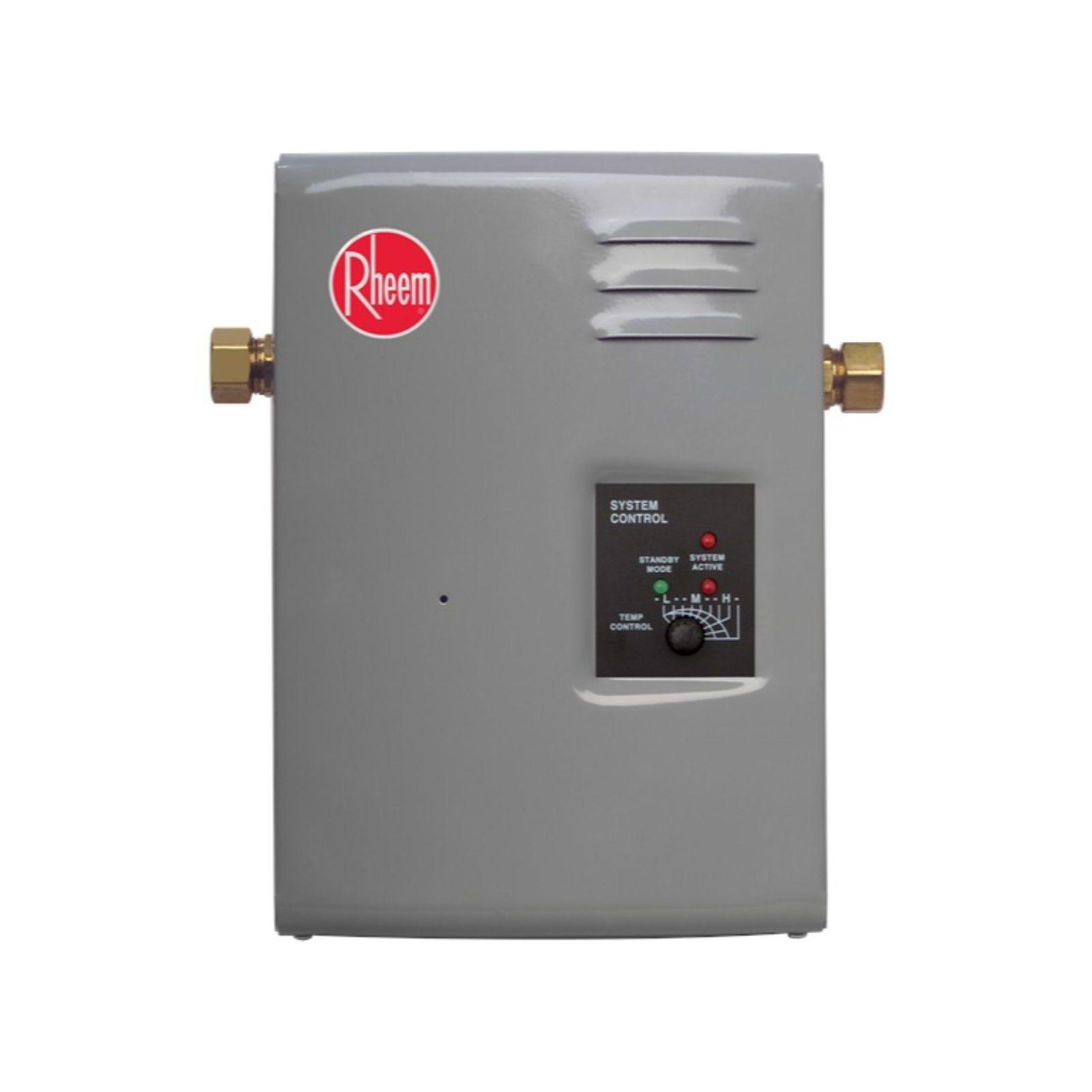 Rheem 591605 - RTE 7 - Tankless Electric Water Heater, 7 kW, 240 Volts