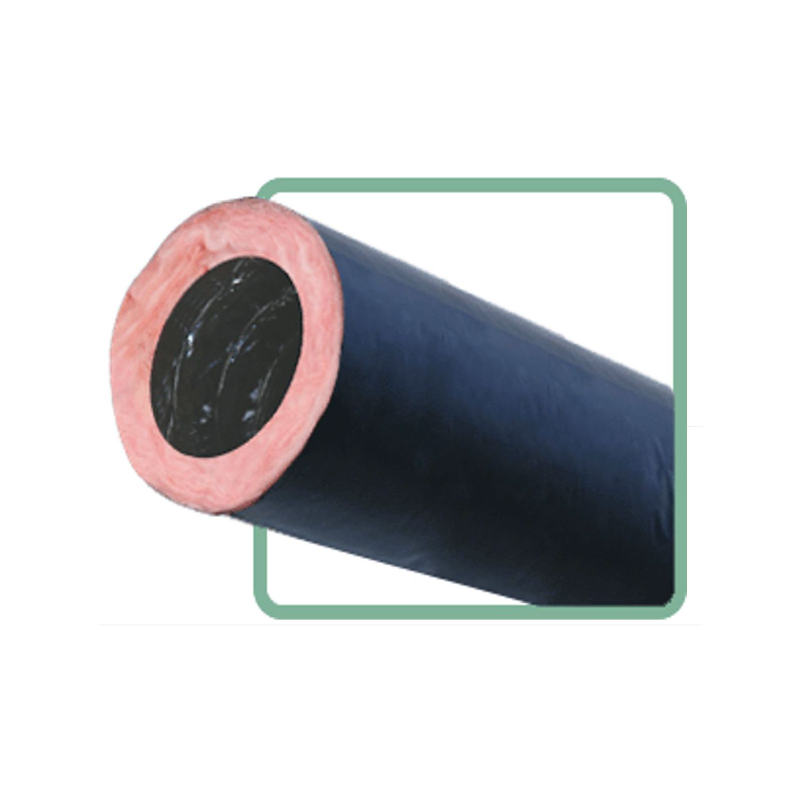 Thermaflex RKDR6MH14 - Insulated, double-air seal, flexible duct for