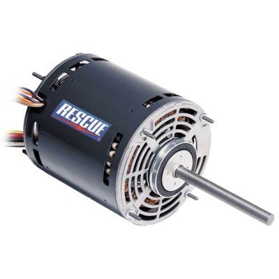u s motors 5460 rescue blower motor 1 6 to 1 2 hp 120 1 60 rh gemaire com Furnace Blower Motor Wiring AC Blower Motor Wiring