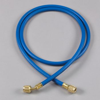 Yellow Jacket 21260 - Plus II Blue Charging Hose with Double Barrier